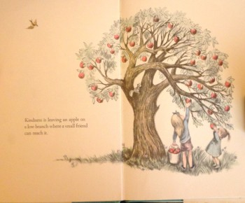kindness book page