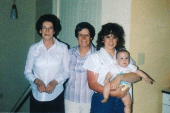 Opal, Patsy, Marcia and Sandy