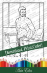 Daydreams Coloring Page #2 Printable Download-Bo Booker-NOT in a Coma by Aria Eden!