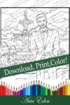 Daydreams Coloring Page #4 Printable Download-Sayler Christy-Most Eligible Bachelor by Aria Eden!