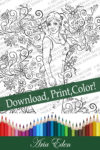 Daydreams Coloring Page #5 Printable Download-Sayler Christy-Ready for the Bennett Ball by Aria Eden!