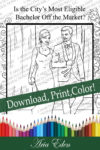 Daydreams Coloring Page #6 Printable Download-Bo and Sayler-Lifestyles Layout (Left) by Aria Eden!