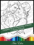 Daydreams-Complete Set of 8 + 1 Coloring Pages (Save 20%-And Receive a Free Bonus Page when you purchase all 8 Daydreams pages at once!) by Aria Eden!